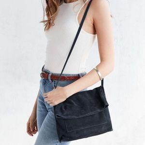 BDG Black Lindstrom Fold Crossbody Bag